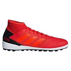 adidas Predator 19.3 Mens Touch and Turf Boots Red US 8, Red, rebel_hi-res
