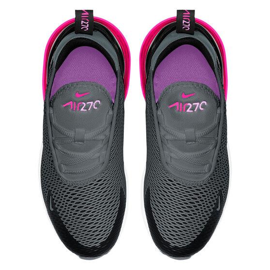 Nike Air Max 270 Kids Casual Shoes, Black/Red, rebel_hi-res