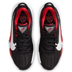 Nike Zoom Freak 2 Kids Basketball Shoes, Black/White, rebel_hi-res
