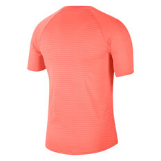 NikeCourt AeroReact Rafa Slam Mens Tennis Top Orange XS, Orange, rebel_hi-res