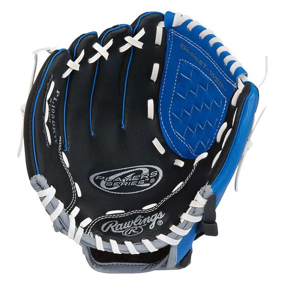 Rawlings Players Right Hand 10.5in Baseball Glove Blue / Black, , rebel_hi-res