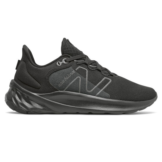 New Balance Fresh Foam Roav v2 Mens Running Shoes, Black, rebel_hi-res