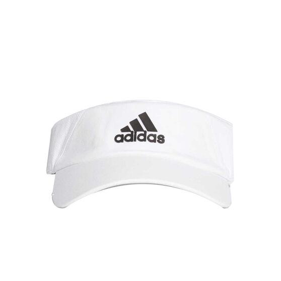 adidas Climalite Visor White / Black OSFA, , rebel_hi-res