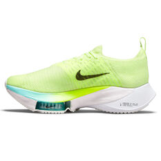 Nike Air Zoom Tempo Next% Womens Running Shoes Volt/Black US 6, Volt/Black, rebel_hi-res