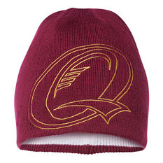 QLD Maroons State of Origin 2018 Switch Beanie, , rebel_hi-res