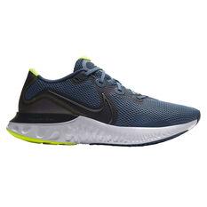 Nike Renew Run Mens Running Shoes Blue / Grey US 7, Blue / Grey, rebel_hi-res