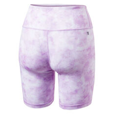 Ell & Voo Womens India 7in Shorts Violet XS, Violet, rebel_hi-res