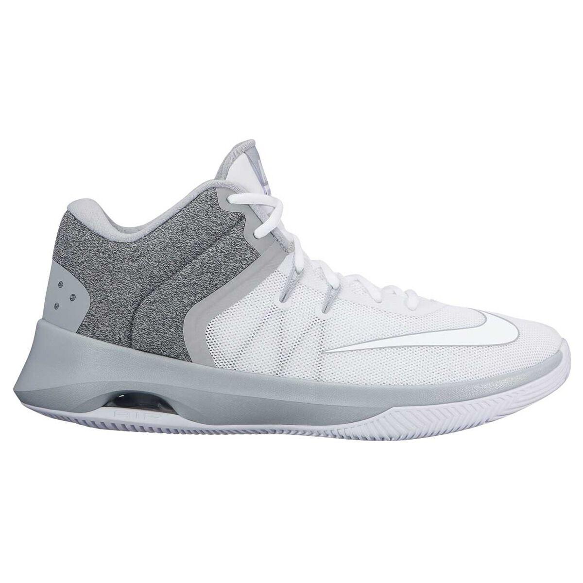 huge selection of 2db36 5f902 ... closeout nike air versatile ii mens basketball shoe white grey rebelhi  res 6cecb 9effe