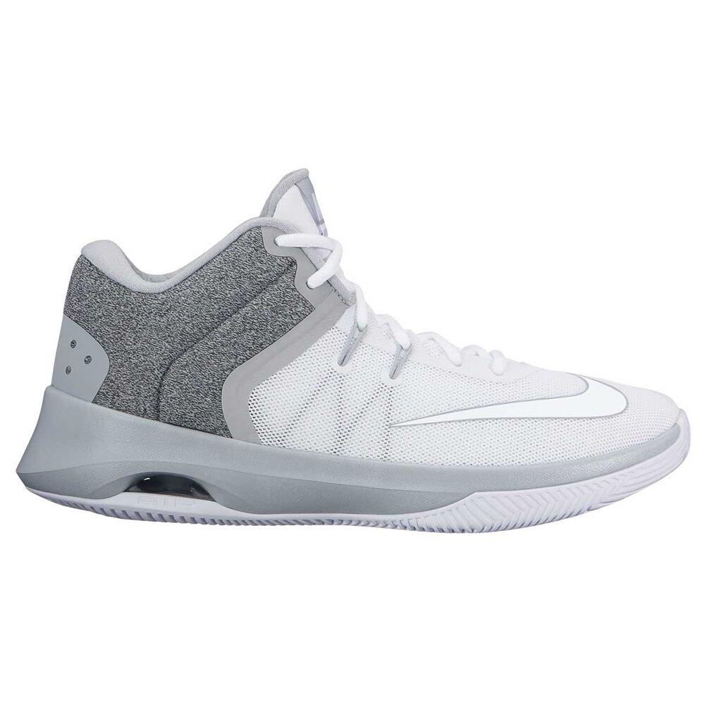 1c14018a59ce Nike Air Versatile II Mens Basketball Shoe White   Grey US 12 ...