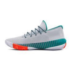 Under Armour SC 3ZERO III Mens Basketball Shoes Grey US 7, Grey, rebel_hi-res