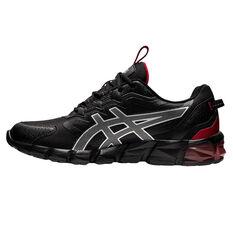 Asics GEL Quantum 90 Mens Casual Shoes Black/Red US 7, Black/Red, rebel_hi-res