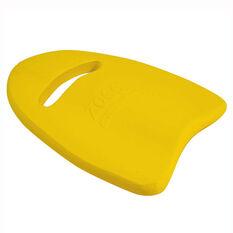 Zoggs Junior Kickboard Yellow, , rebel_hi-res