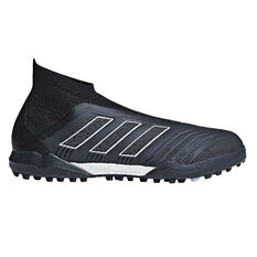 adidas Predator Tango 18+ Mens Touch and Turf Boots Black US 7, Black, rebel_hi-res