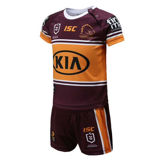 Brisbane Broncos 2020 Infants Home Kit, , rebel_hi-res