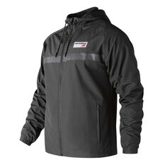 New Balance Mens Athletic 78 Jacket Black S, Black, rebel_hi-res