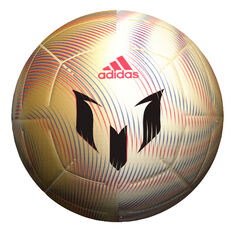 adidas Messi Club Soccer Ball Gold 3, Gold, rebel_hi-res