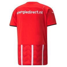 PSV Eindhoven 2021/22 Mens Home Jersey Red S, Red, rebel_hi-res