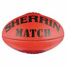 Sherrin Match Australian Rules Ball Red 5, , rebel_hi-res