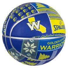 Spalding NBA Warriors Ugly Sweater Basketball 7, , rebel_hi-res