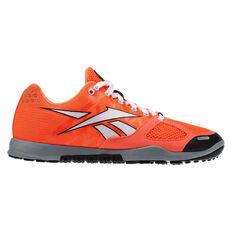 Reebok Crossfit Nano 2.0 Womens Training Shoes Orange / White US 6, Orange / White, rebel_hi-res