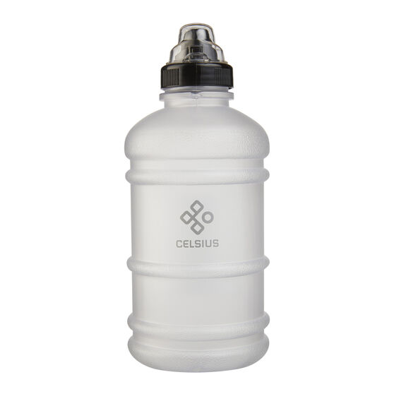 Celsius Inspire 1L Soft Touch Water Bottle Clear, Clear, rebel_hi-res