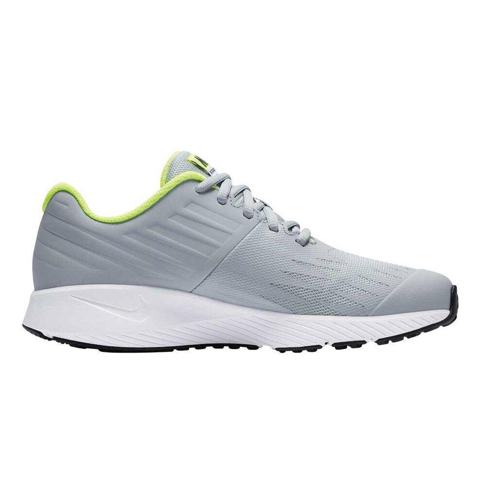 bb74a6084c8 Nike Star Runner Boys Running Shoes Grey   Black US 5