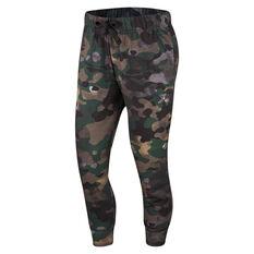 Nike Womens Dri FIT Icon Clash Track Pants Camo XS, Camo, rebel_hi-res