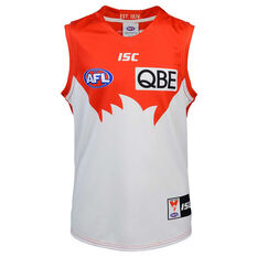 Sydney Swans 2020 Kids Home Guernsey Red/White 6, Red/White, rebel_hi-res