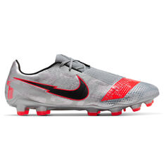 Nike Phantom Venom Elite Football Boots Silver/Red US Mens 6 / Womens 7.5, Silver/Red, rebel_hi-res