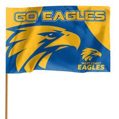 West Coast Eagles 2019 Game Day Flag, , rebel_hi-res