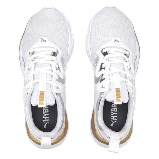 Puma Zone XT Womens Training Shoes, White/Grey, rebel_hi-res