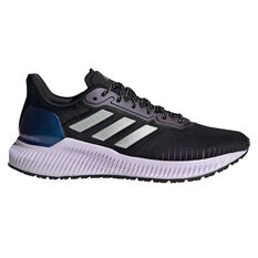 adidas Solar Ride Womens Running Shoes Black/Grey US 6, Black/Grey, rebel_hi-res