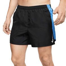 Nike Mens Dri-FIT Challenger 5in Brief-Lined Running Shorts Black S, Black, rebel_hi-res