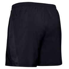 Under Armour Mens Launch 5in Woven Shorts Black S, Black, rebel_hi-res