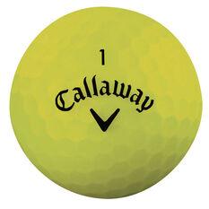 Callaway Superhot Bold Yellow 15 Pack Golf Balls, , rebel_hi-res