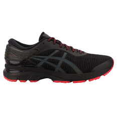 Asics GEL Kayano 25 Lite Show Mens Running Shoes Black / Black US 7, Black / Black, rebel_hi-res