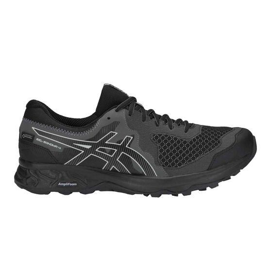 Asics GEL Sonoma 4 GTX Mens Trail Running Shoes, Black / Grey, rebel_hi-res