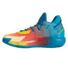 adidas Dame 7 Avatar Basketball Shoes Blue/Orange US 7, Blue/Orange, rebel_hi-res