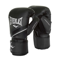Everlast Advanced Everstrike Training Boxing Gloves Black S / M, Black, rebel_hi-res