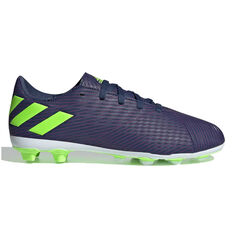 adidas Nemeziz Messi 19.4 Kids Football Boots Navy / Green US 11, Navy / Green, rebel_hi-res