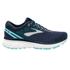 Brooks Ghost 11 Mens Running Shoes Grey / Blue US 7, Grey / Blue, rebel_hi-res