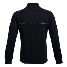 Under Armour Mens Project Rock Knit Jacket, Black, rebel_hi-res