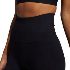 adidas Womens Formation Sculpt Tights, Black, rebel_hi-res