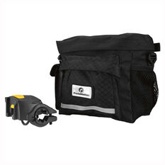 Pedal Nation Handle Bar Bike Bag Black, , rebel_hi-res