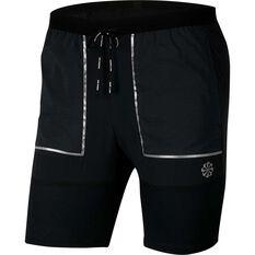 Nike Mens 7in Future Fast Shorts Black XS, Black, rebel_hi-res