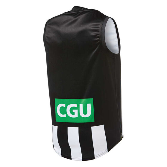 Collingwood Magpies 2019 Mens Home Guernsey, Black / White, rebel_hi-res
