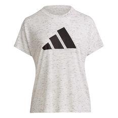 adidas Womens Sportswear Winners 2.0 Tee Plus White 1XB, White, rebel_hi-res