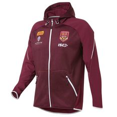 5e2e9d0ceab QLD Maroons State of Origin 2019 Mens Tech Pro Hoodie Maroon S