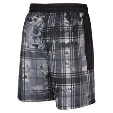 Nike Mens Kyrie Basketball Printed Shorts Black S, Black, rebel_hi-res