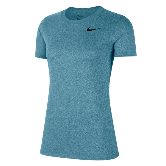 Nike Womens Dri-FIT Legend Training Tee, Blue, rebel_hi-res